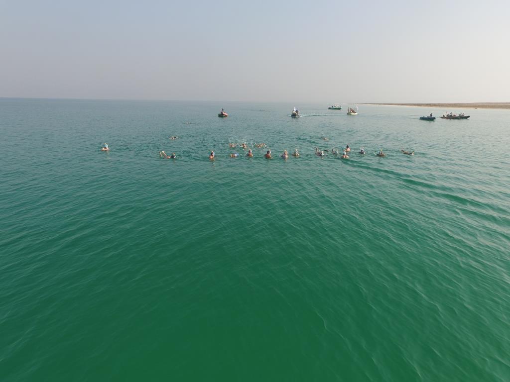 Dead Sea Swim event
