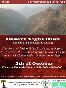 Night Hike in Auja