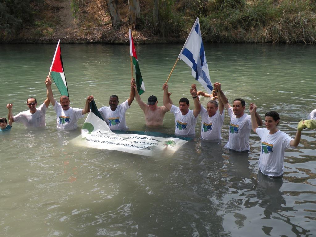 Big Jump in the Jordan River 2010