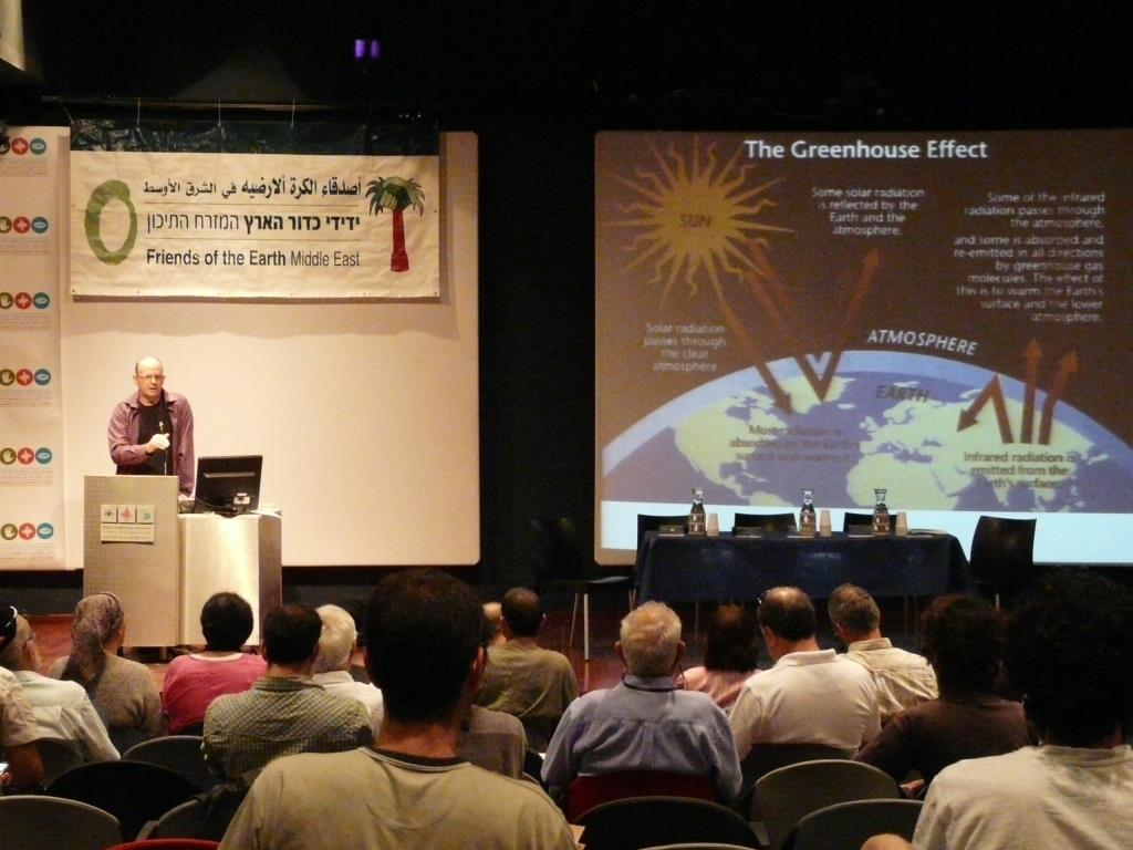 Climate change conference in Jerusalem