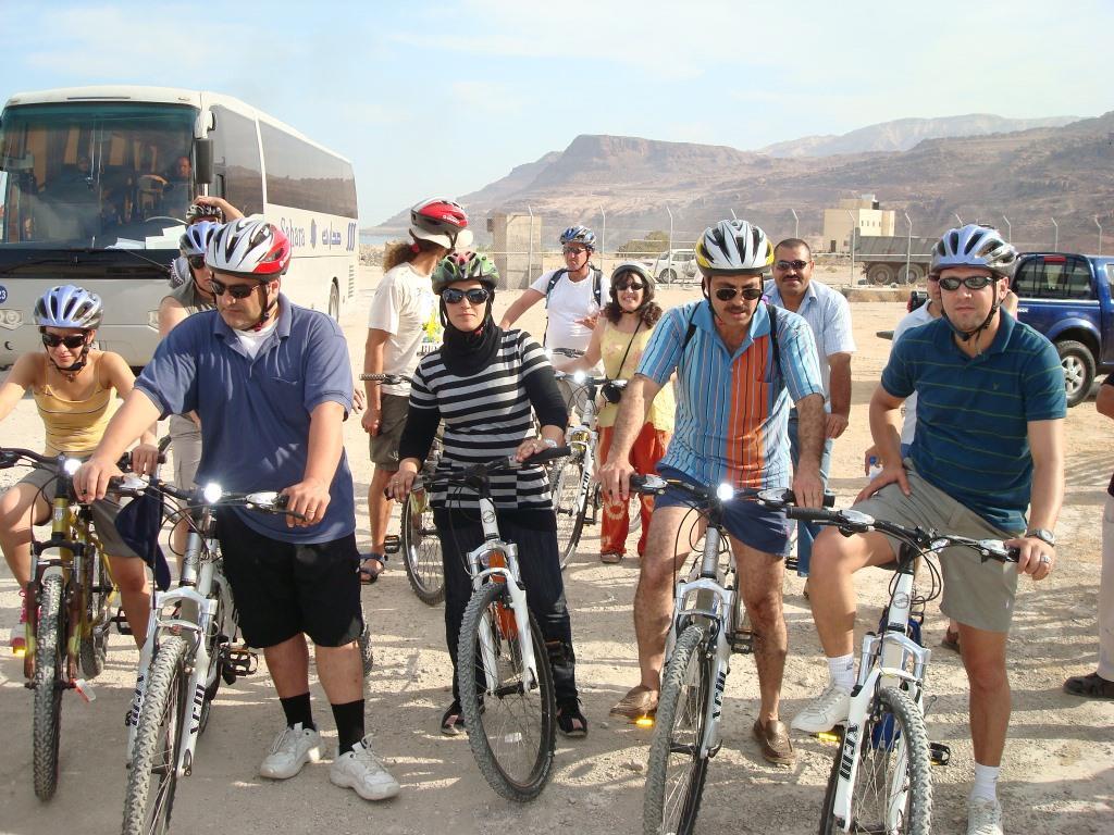 Neighbors Path in Jordan Dead Sea