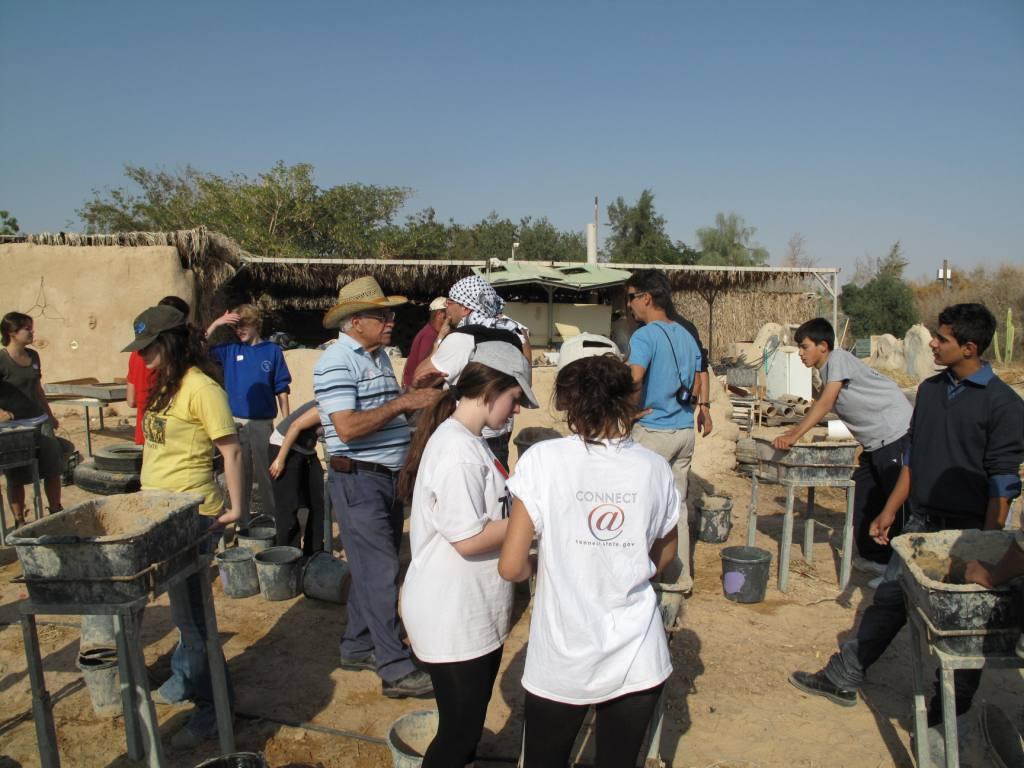 ecobuilding camp in kibbutz lotan