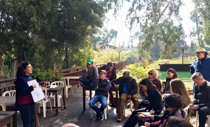 Jordan River Tour for Evangelical Leaders from U.S.