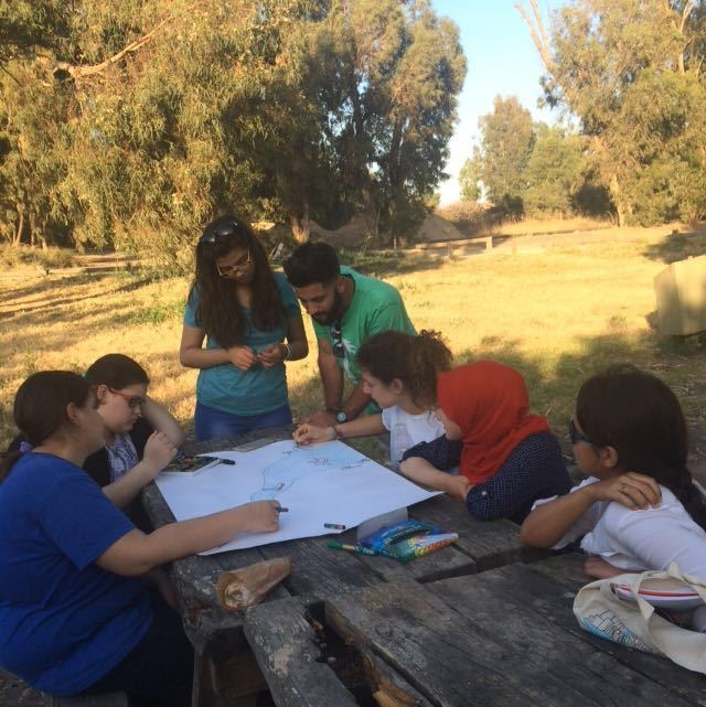 Cross border youth camp