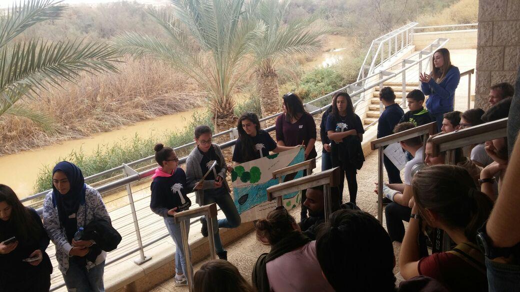 Girls at Kaser el Yehud