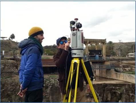 3D mapping device at Jordan River Peace Park