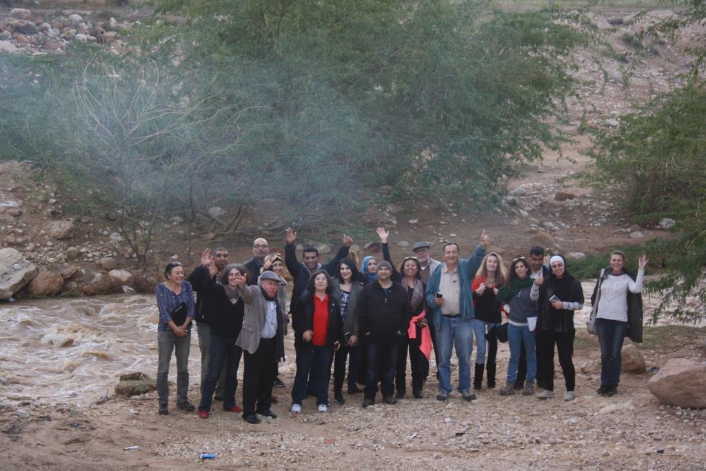 Jordan River Tour Guides Training 3 Yabbuk River