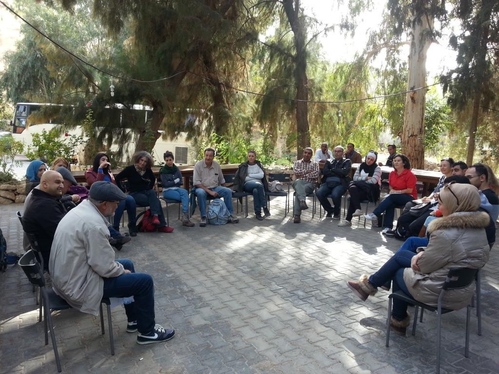 Jordan River Tour Guides Training 3 at SHE