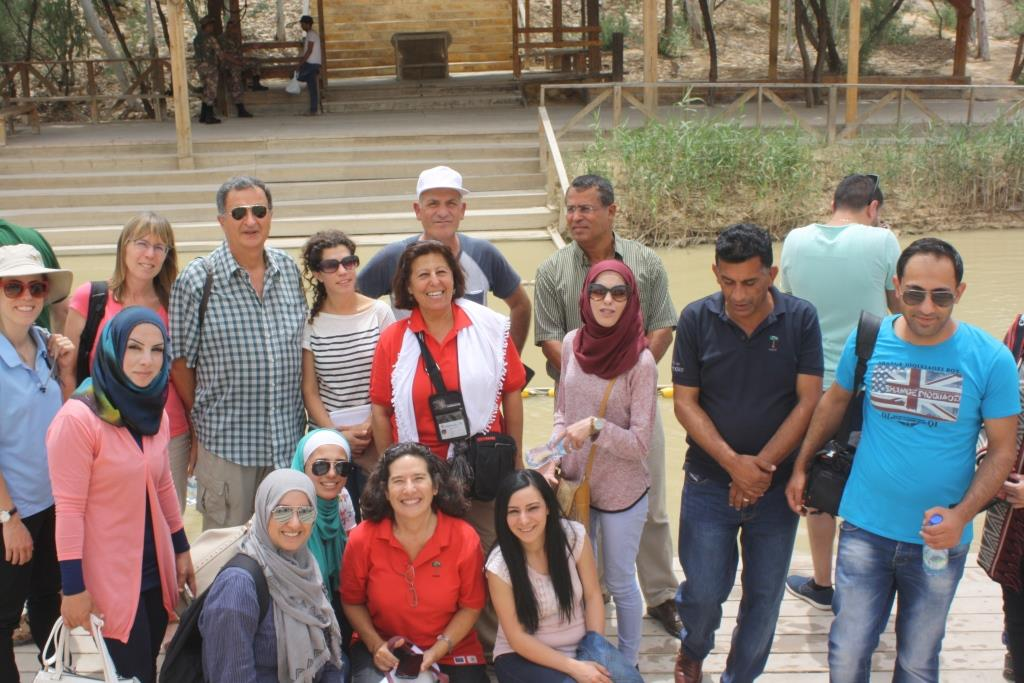 Jordan River Tour Guide Training at Kaser el Yehud