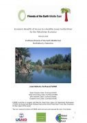 Economic Benefits of a healthy Jordan River to Palestinian Economy