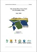 Pre feasibility report for proposed Jordan River Peace Park