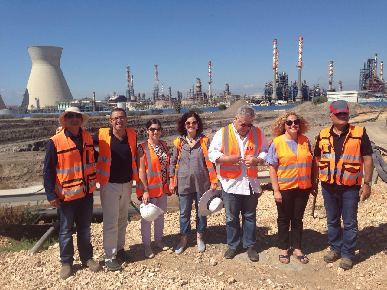 Kishon River site tour