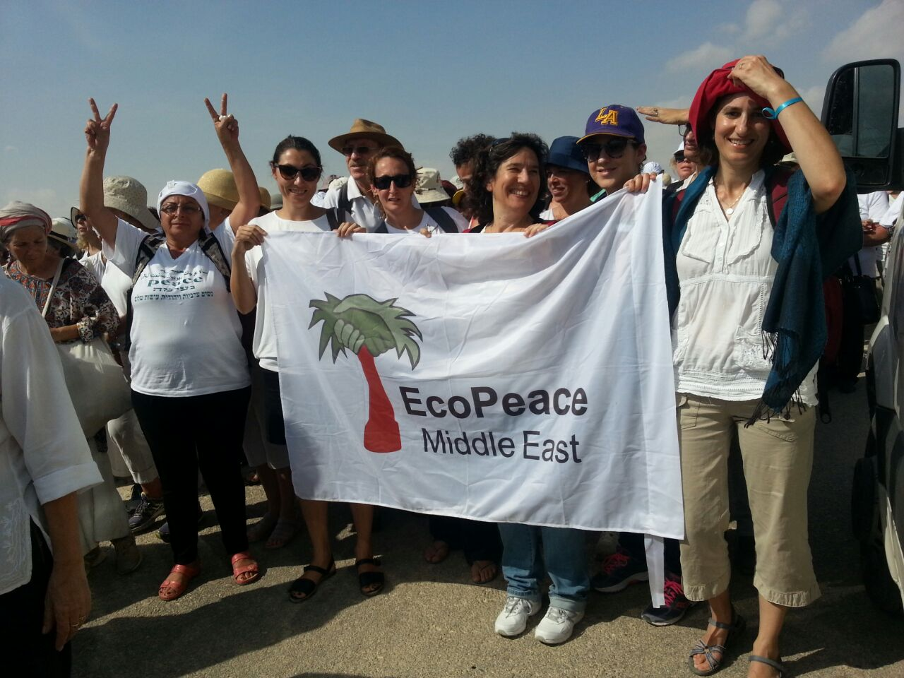 Women Wage Peace March of Hope Baptism Site