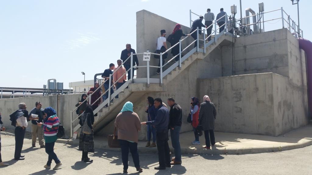 Tour of WWTP Netanya