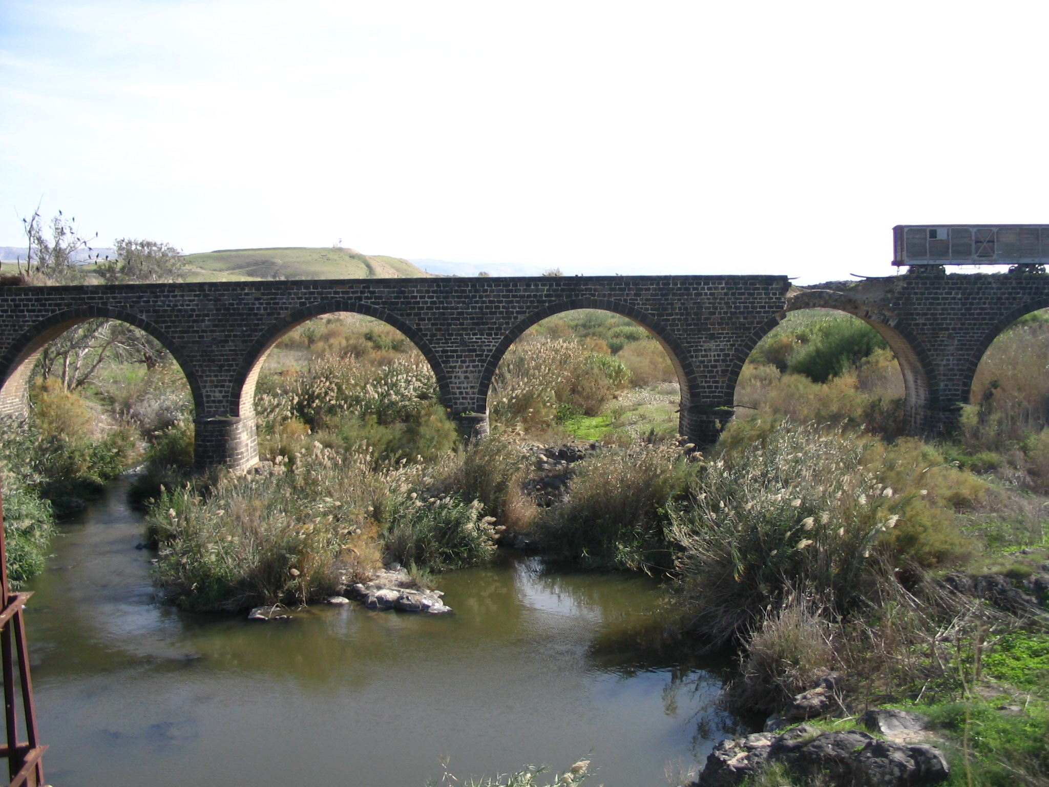 Ottoman Bridge Gesher site