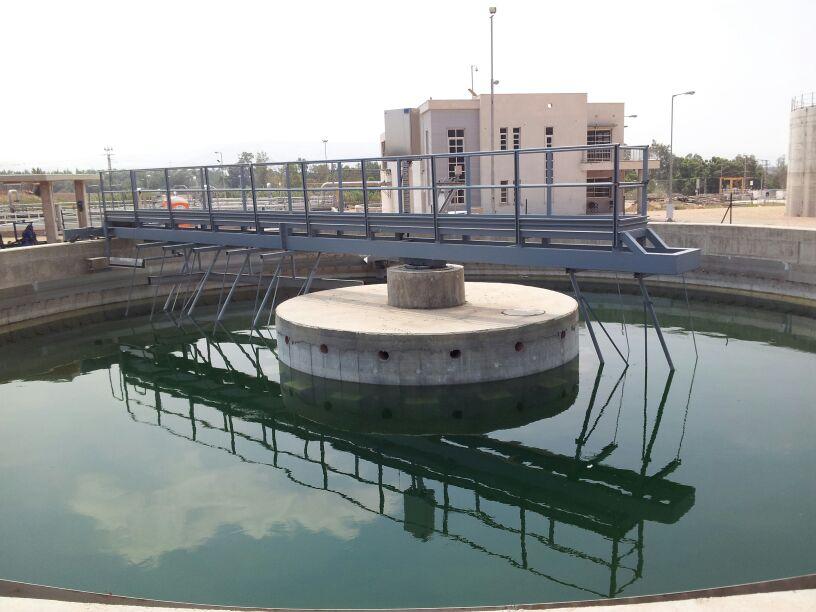 Waste water treatment plant, Jordan Valley