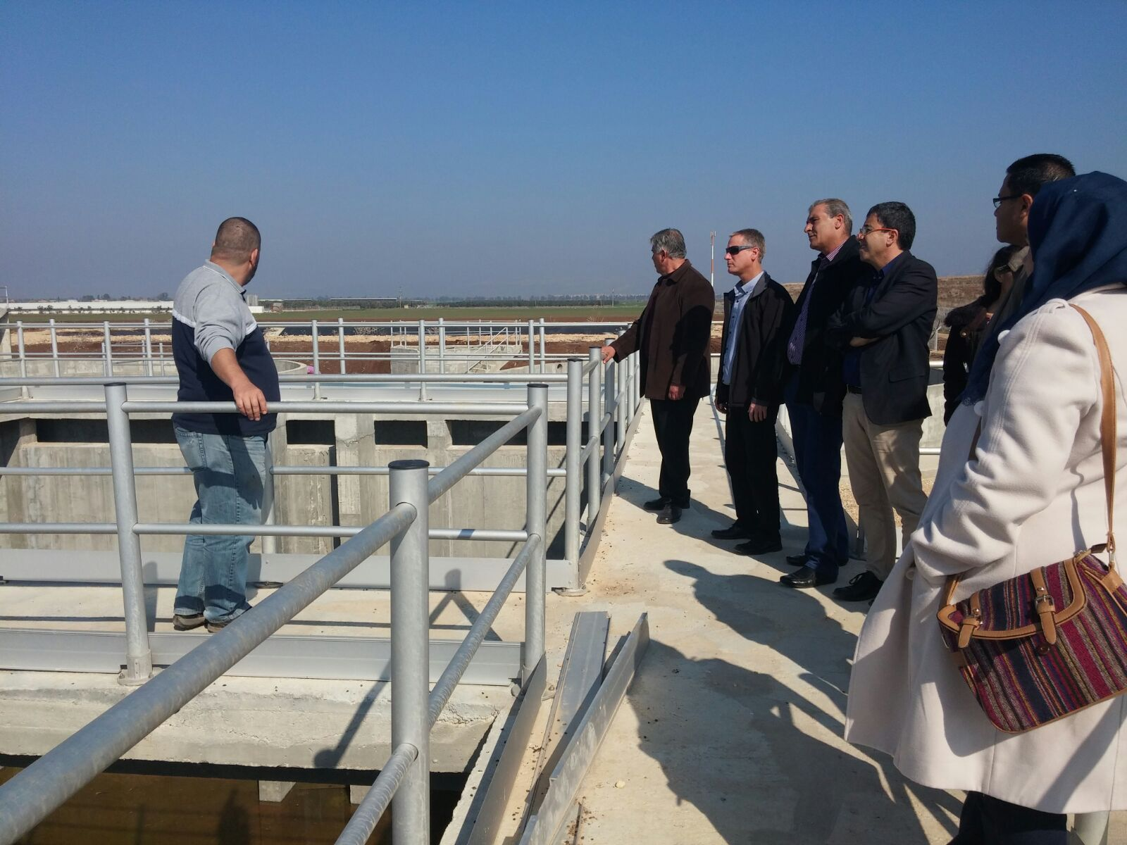 Kishon River Waste Water Treatment Plant