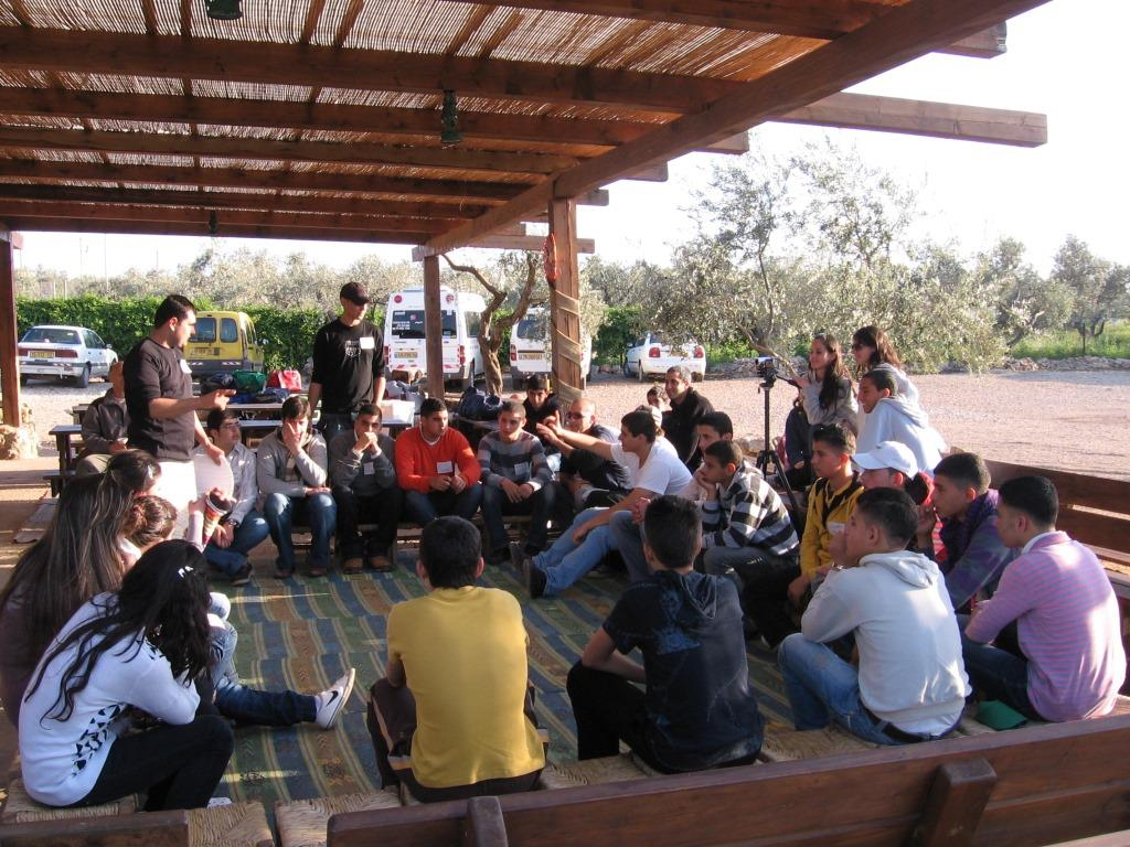 Baka gharbia youth on world water day 2009