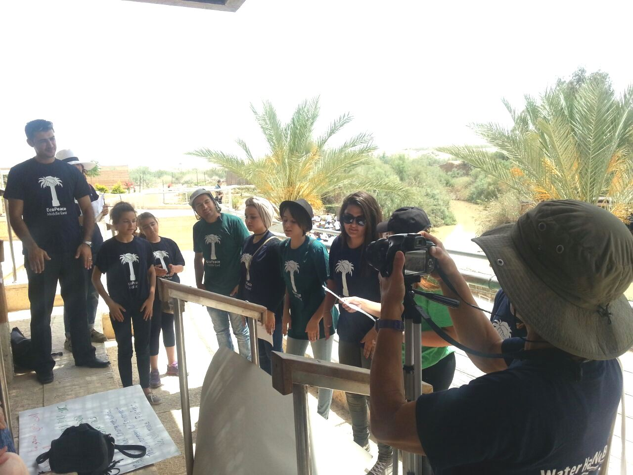 Youth at Baptism Site We Will Change It