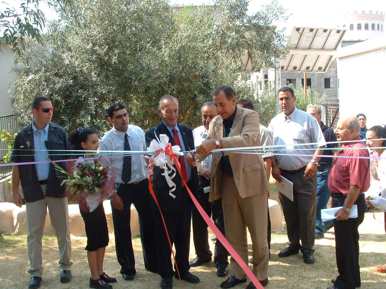 EcoGarden ceremony in Baka Gharbia_7.2006