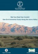 Geological Survey of Israel Study on Red Dead Canal Geo Environment