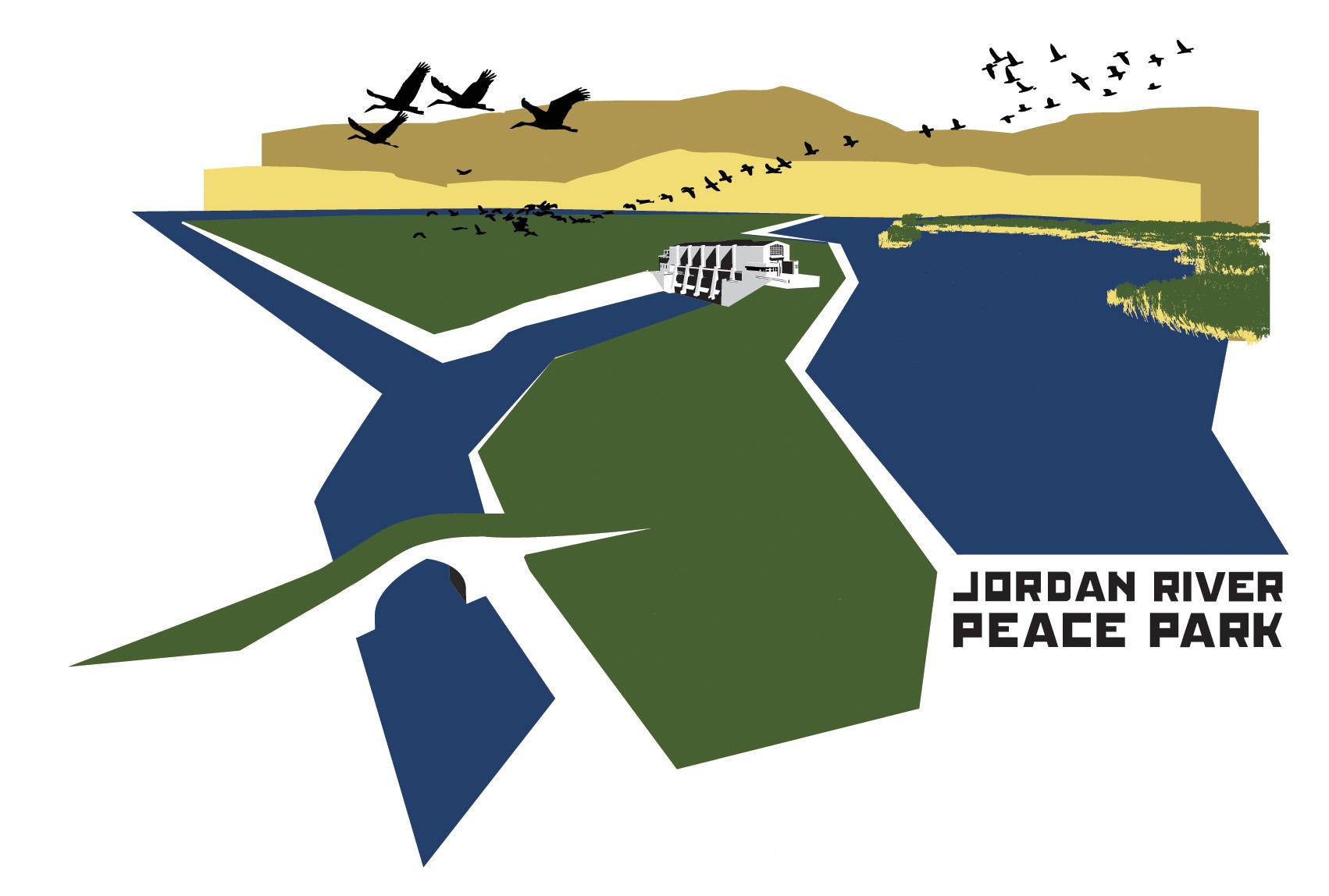 Jordan River Peace Park logo Tshirt