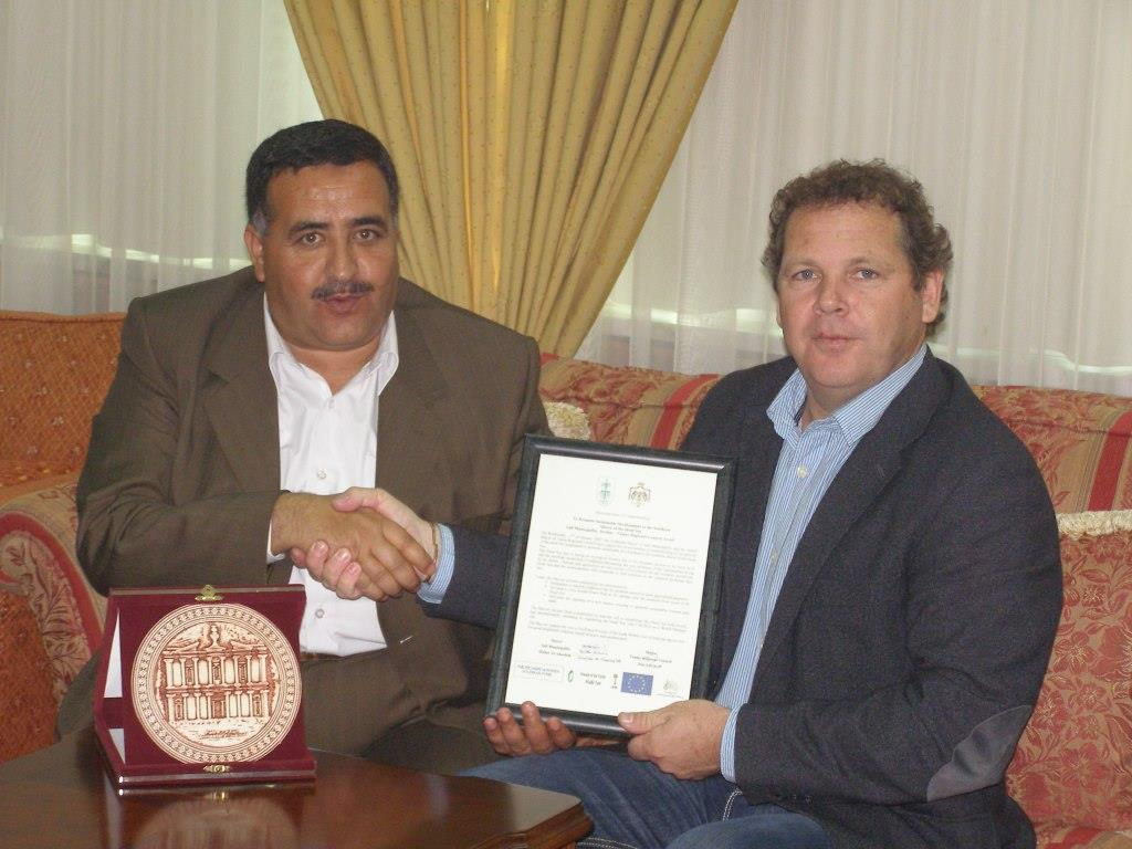 Israeli Jordanian Mayors meeting 1.2007