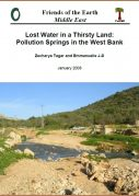 Lost water in a thirsty land