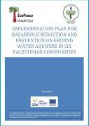 Palestinian Implementation plan to protect groundwater