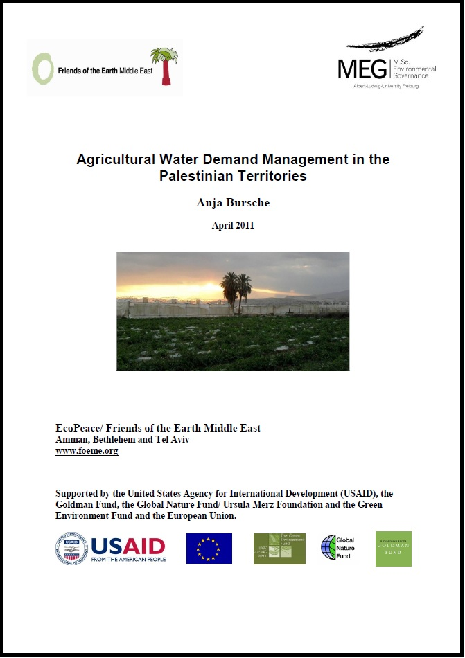 Water demand management in the PA