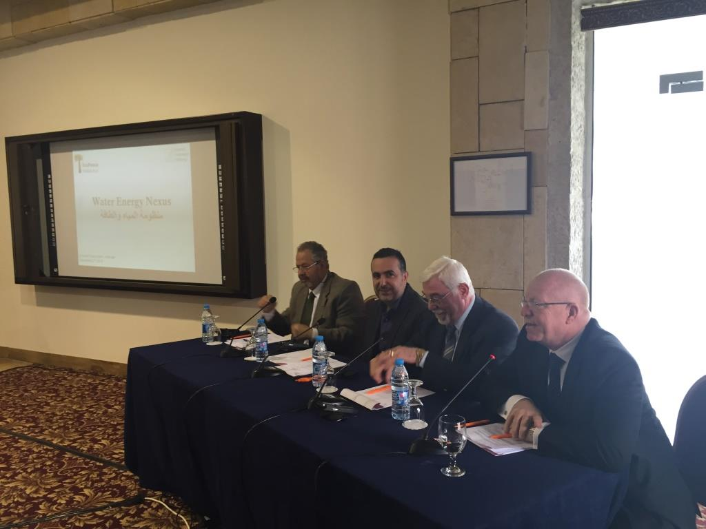 Roundtable event in Amman WEN project