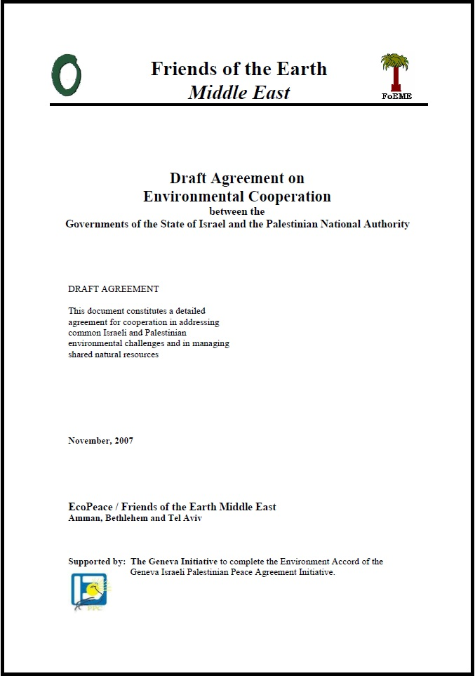 Model Environment Accord Geneva Initiative